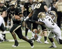 Big 10 Football - Purdue RB Akeem Shavers