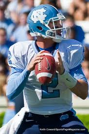 ACC Football - North Carolina QB Bryn Renner