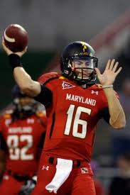 ACC Football - Maryland QB CJ Brown