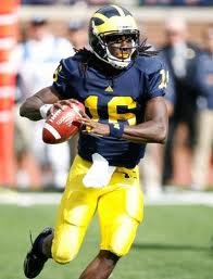 College Football Picks - Denard Robinson