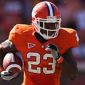 2012 college football win totals - Clemson RB Andre Ellington