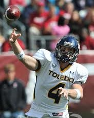 MAC Football - Toledo QB Austin Dantin
