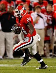2012 college football win totals - UGA RB Boo Malcome