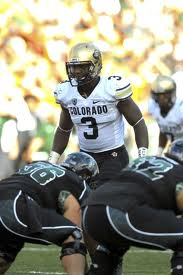 PAC 12 Football - Colorado LB Doug Rippy
