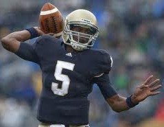 2012 college football win totals - Everett Golson