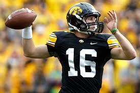 Big 10 Football - Iowa QB James Vandenberg