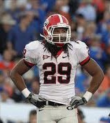 2012 college football win totals - UGA LB Jarvis Jones