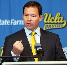 2012 college football win totals - UCLA HC Jim Mora