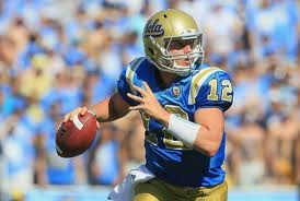 Pac 12 football - UCLA QB Richard Brehaut