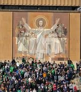 2012 college football win totals - Touchdown Jesus