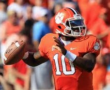 2012 college football win totals - Clemson QB Tajh Boyd