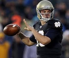 2012 college football win totals - ND QB Tommy Rees