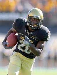 2012 college football win totals - CU RB Tony Jones