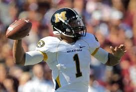 SEC Football - Missouri QB James Franklin