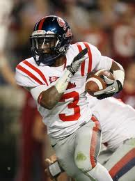 SEC Football - Ole Miss RB Jeff Scott