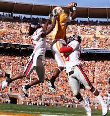 SEC Football - Tennessee WR Justin Hunter