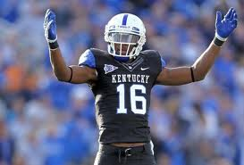 2012 college football win totals - Kentucky WR La'Rod King