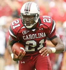 College football Game of the Year lines - South Carolina RB Marcus Lattimore