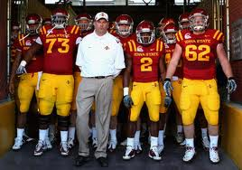 2012 college football win totals - Iowa State