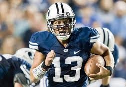 2012 college football win totals - BYU QB Riley Nelson