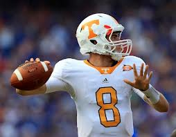 2012 college football win totals - Tennessee QB Tyler Bray