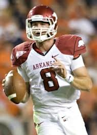 SEC Football - Arkansas QB Tyler Wilson