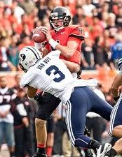 2012 college football win totals - BYU linebacker Kyle Van Noy
