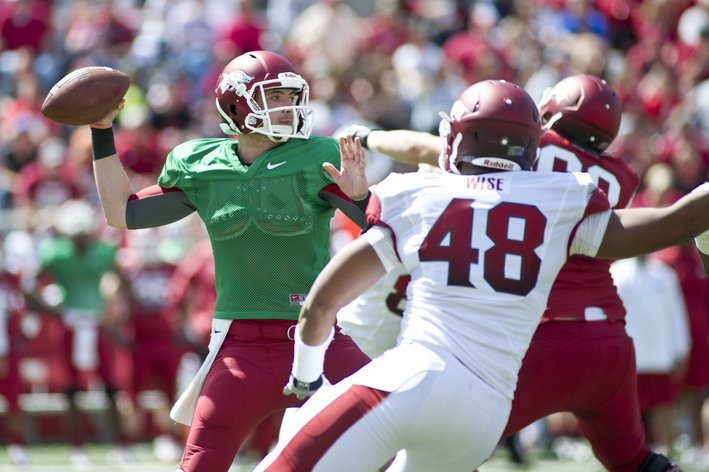 Arkansas football 2013 spring wrap up