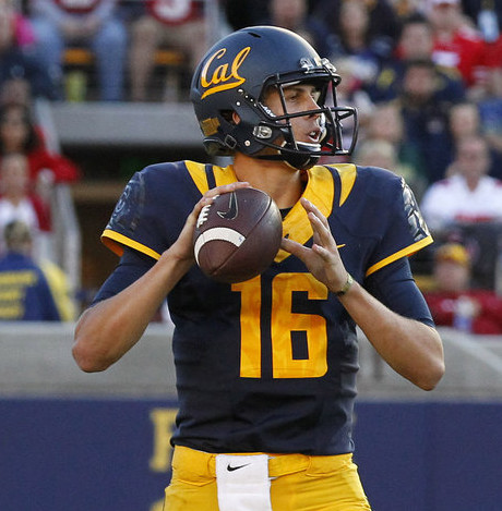 California QB Jared Goff (Cary Edmondson-USA TODAY Sports)