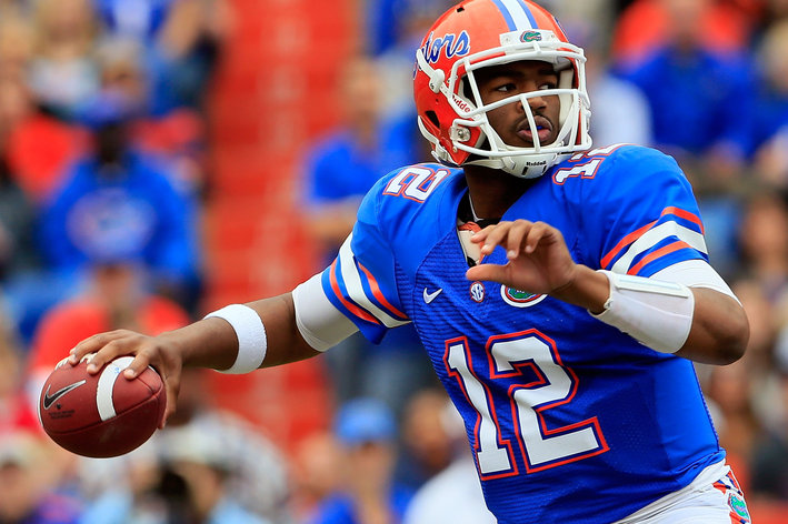 Former Florida QB Jacoby Brissett (Photo by Sam Greenwood/Getty Images)