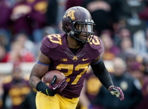 Minnesota RB David Cobb
