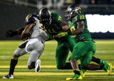 Oregon defensive lineman DeForest Buckner