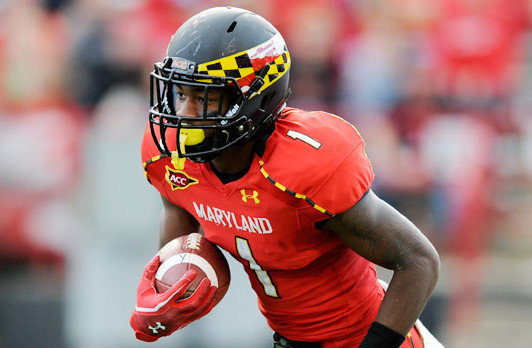 Maryland WR Stefon Diggs