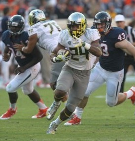 Oregon RB Thomas Tyner