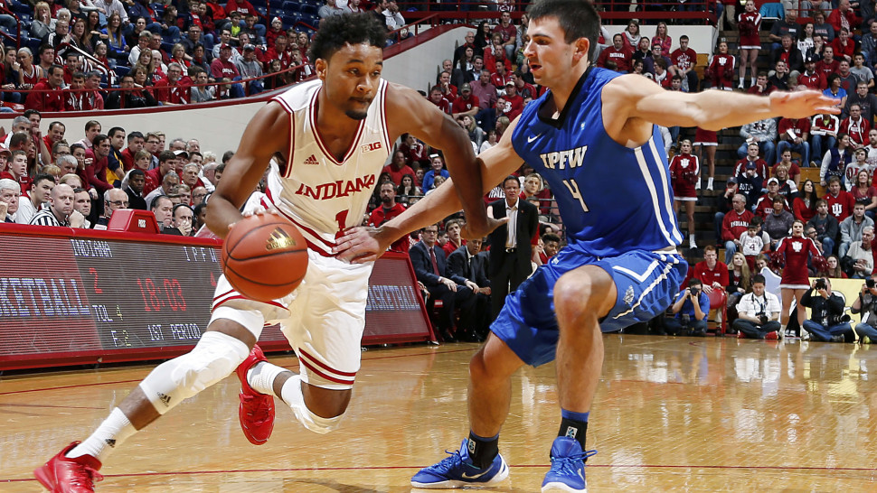 Indiana Hoosiers guard James Blackmon (Brian Spurlock-USA TODAY Sports)